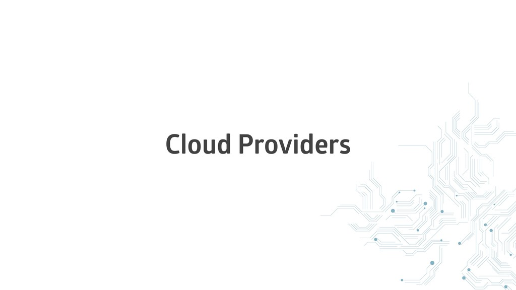 Cloud Providers