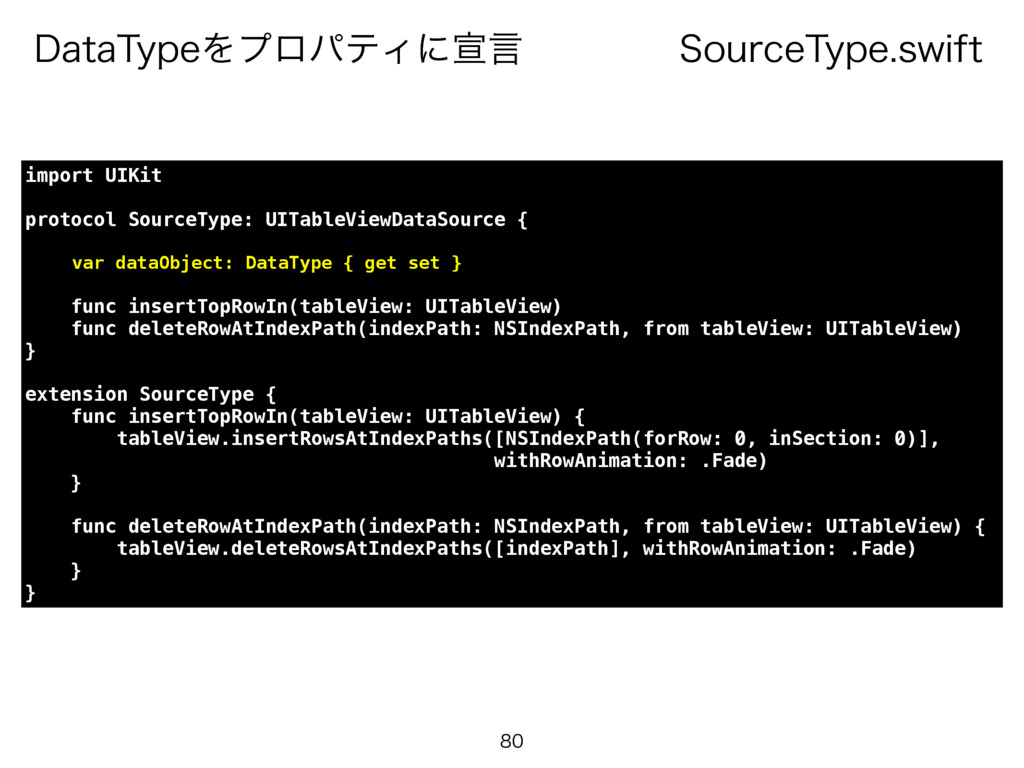 4PVSDF5ZQFTXJGU %BUB5ZQFΛϓϩύςΟʹએݴ  import UI...