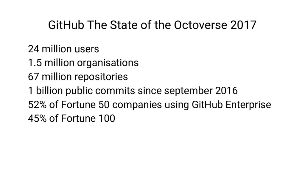 GitHub The State of the Octoverse 2017 24 milli...