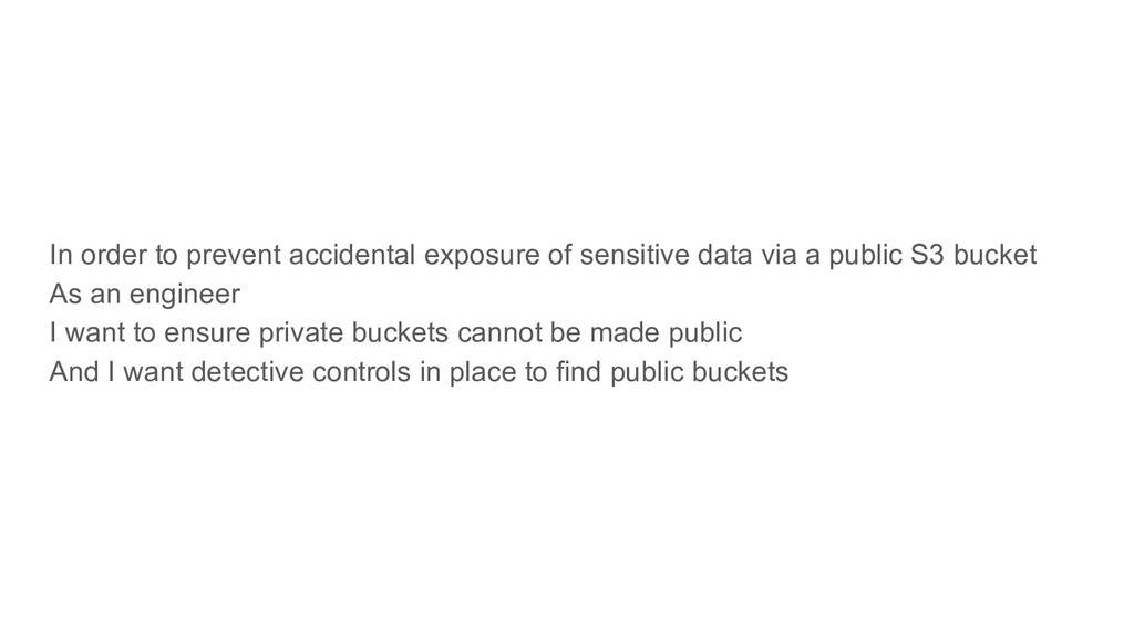 In order to prevent accidental exposure of sens...