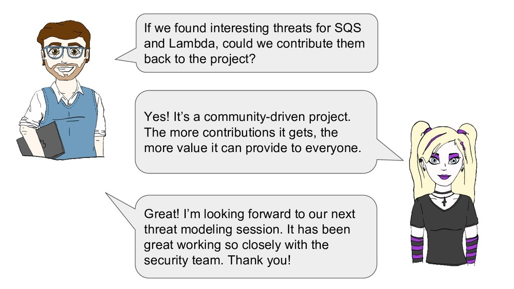 If we found interesting threats for SQS and Lam...