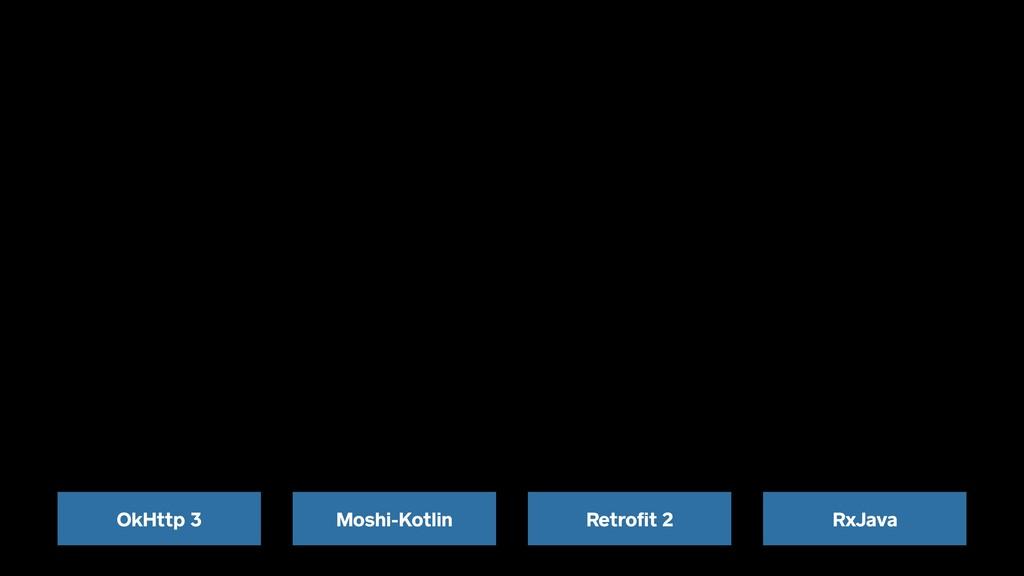 Retrofit 2 RxJava OkHttp 3 Moshi-Kotlin
