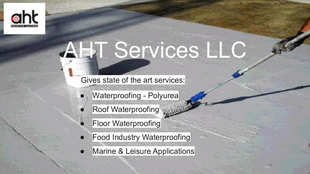 AHT Services LLC Gives state of the art service...