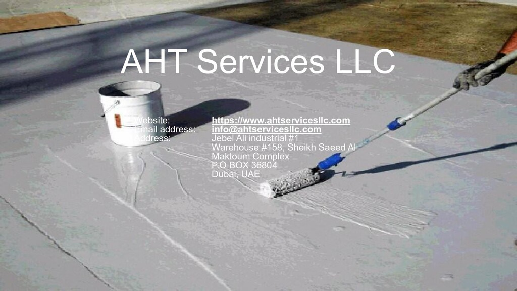 AHT Services LLC Website: https://www.ahtservic...