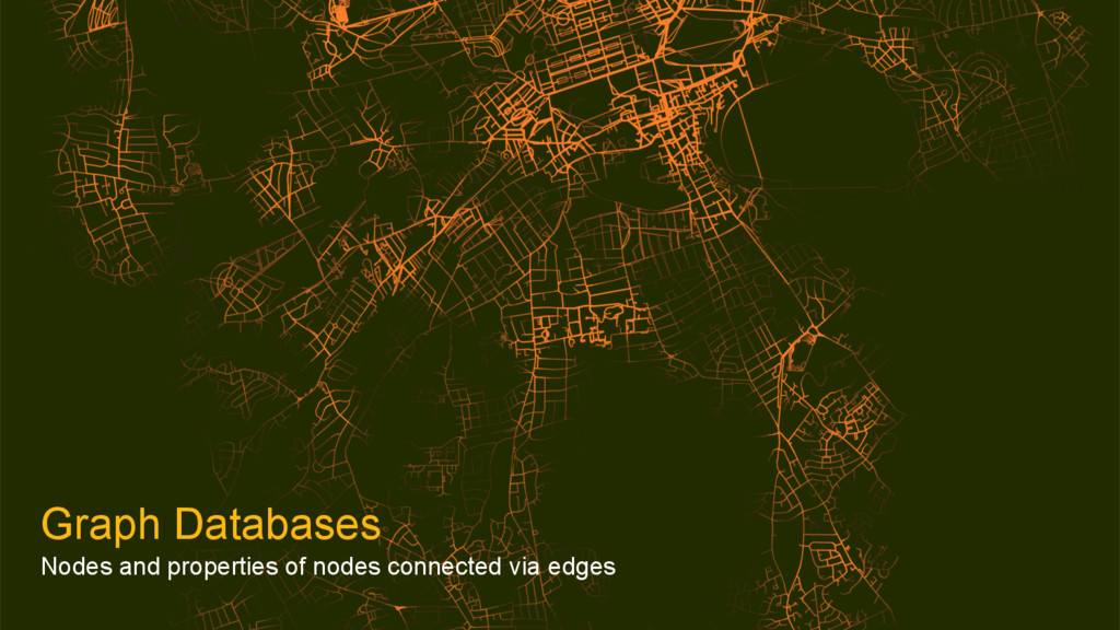 Graph Databases Nodes and properties of nodes c...