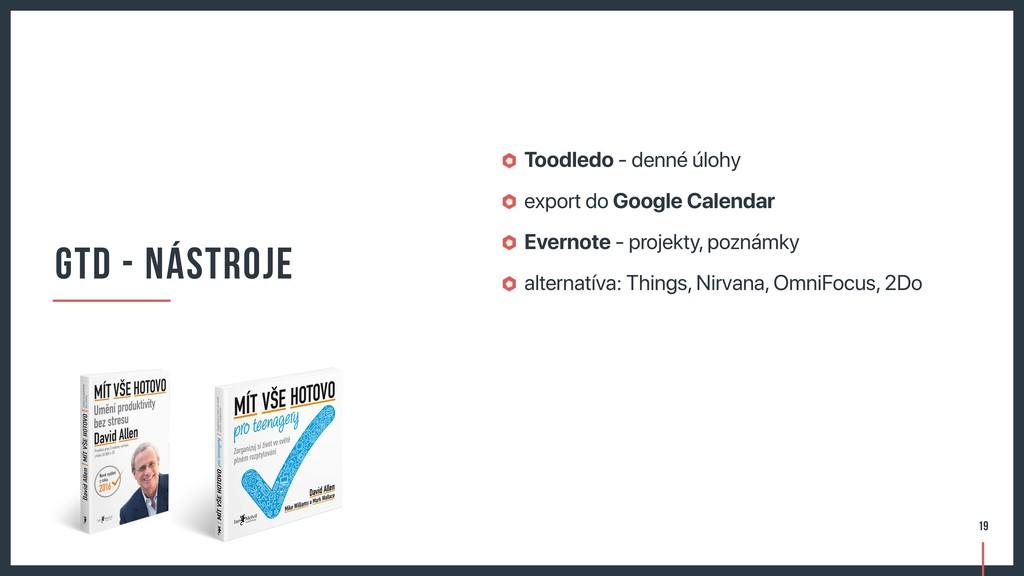 Toodledo - denné úlohy export do Google Calenda...