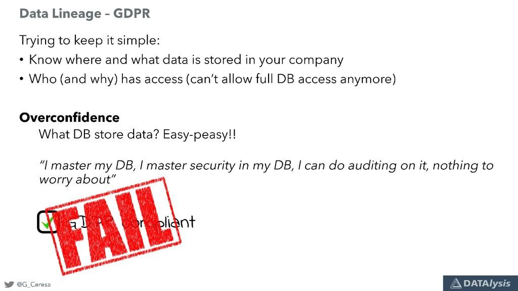 • • GDPR compliant