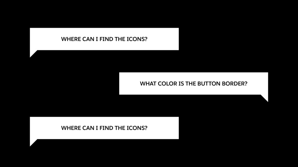 WHERE CAN I FIND THE ICONS? WHAT COLOR IS THE B...