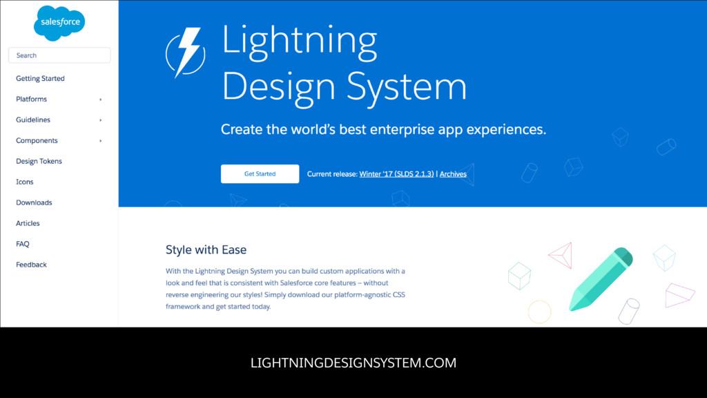 LIGHTNINGDESIGNSYSTEM.COM