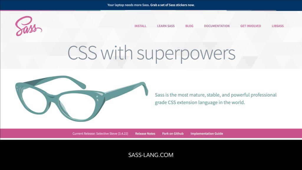 SASS-LANG.COM