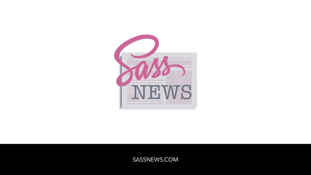 SASSNEWS.COM NEWS