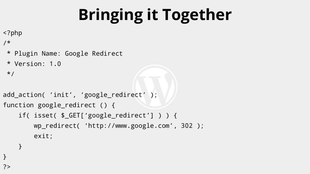 <?php /* * Plugin Name: Google Redirect * Versi...