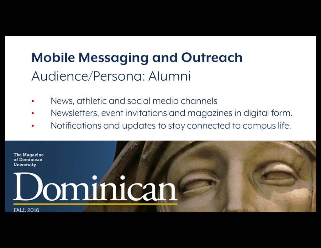 Reimagining Campus Communications Mobile Messag...