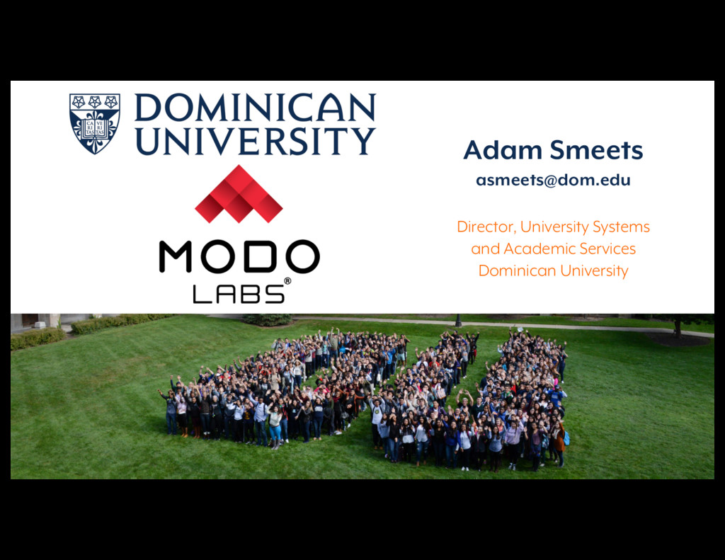 Reimagining Campus Communications Adam Smeets a...