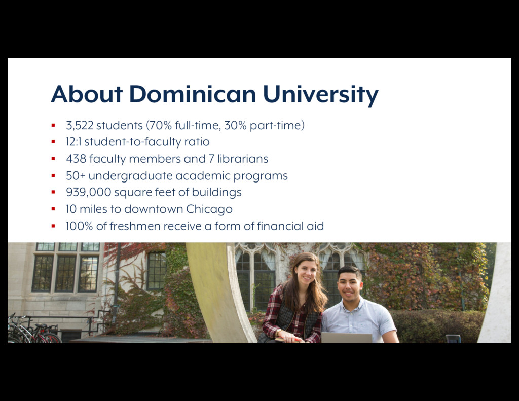 Reimagining Campus Communications About Dominic...