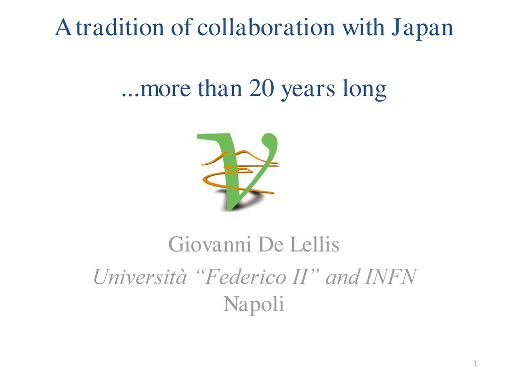 A tradition of collaboration with Japan ...more...