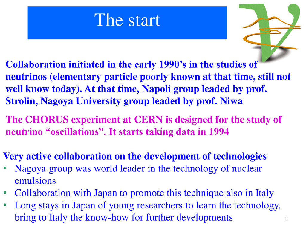 The start Collaboration initiated in the early ...