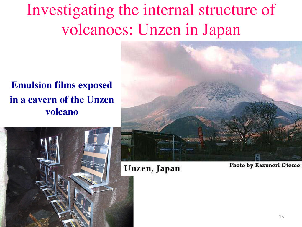 Investigating the internal structure of volcano...