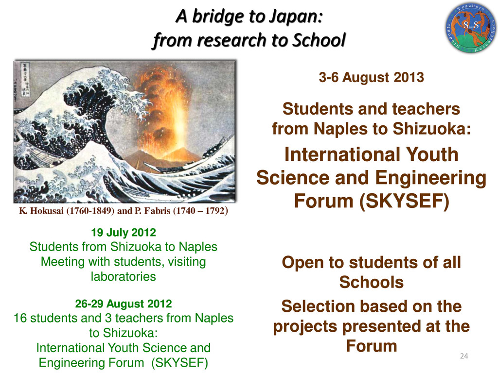 A bridge to Japan: from research to School 19 J...