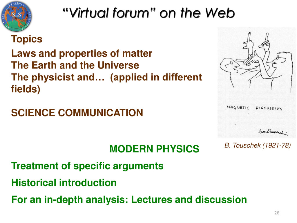 """""""Virtual forum"""" on the Web Topics Laws and prop..."""