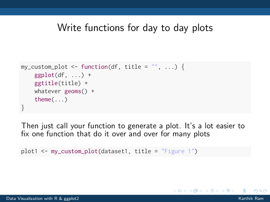 Write functions for day to day plots my_custom_...