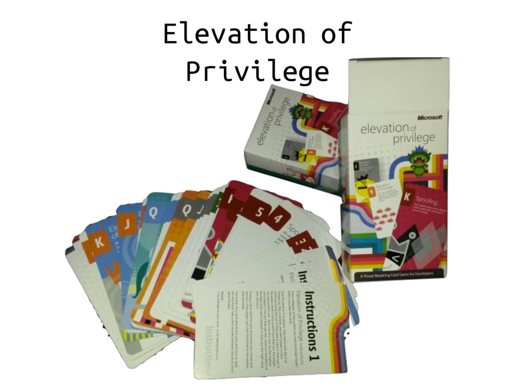 Elevation of Privilege