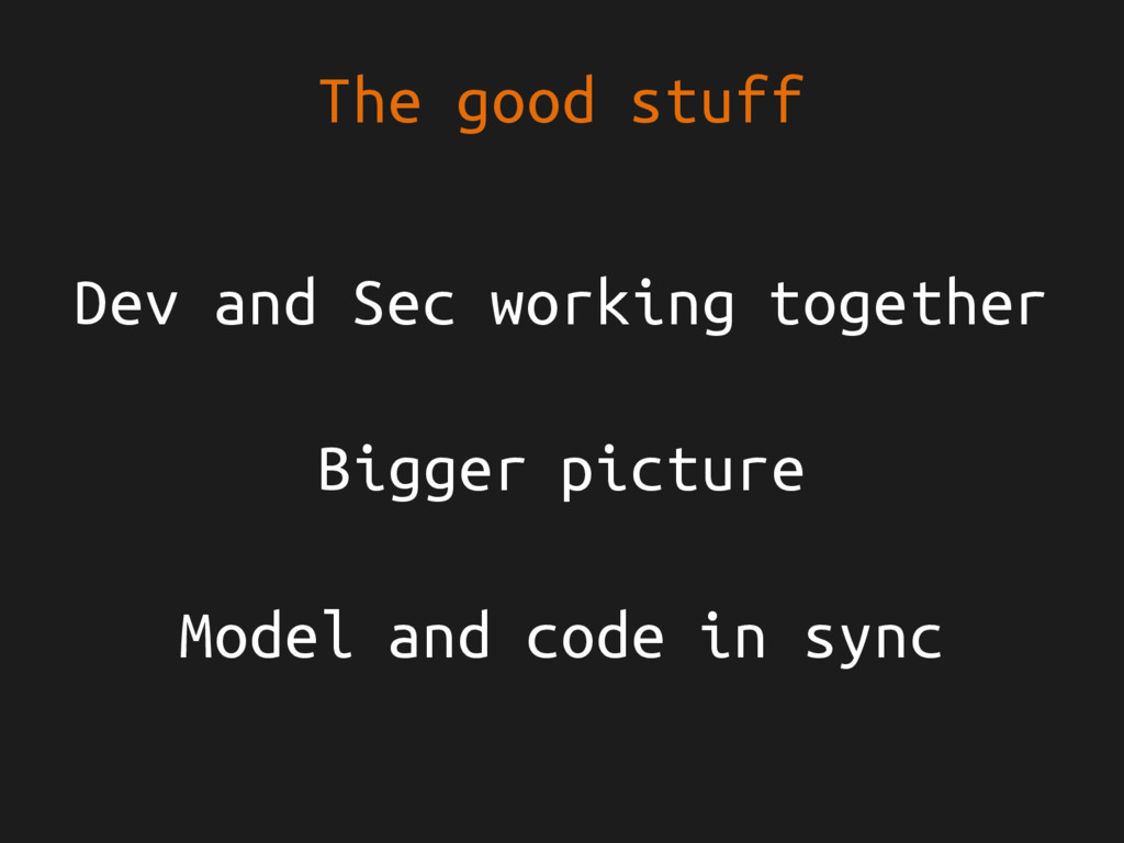 The good stuff Dev and Sec working together Big...