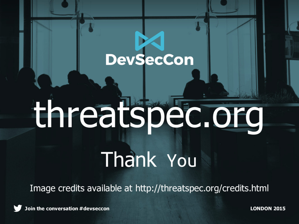 LONDON 2015 Join the conversation #devseccon th...