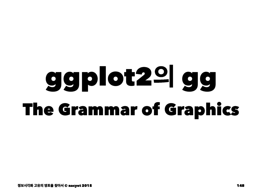 ggplot2 gg The Grammar of Graphics ࠁदпച Ҋਬ ...
