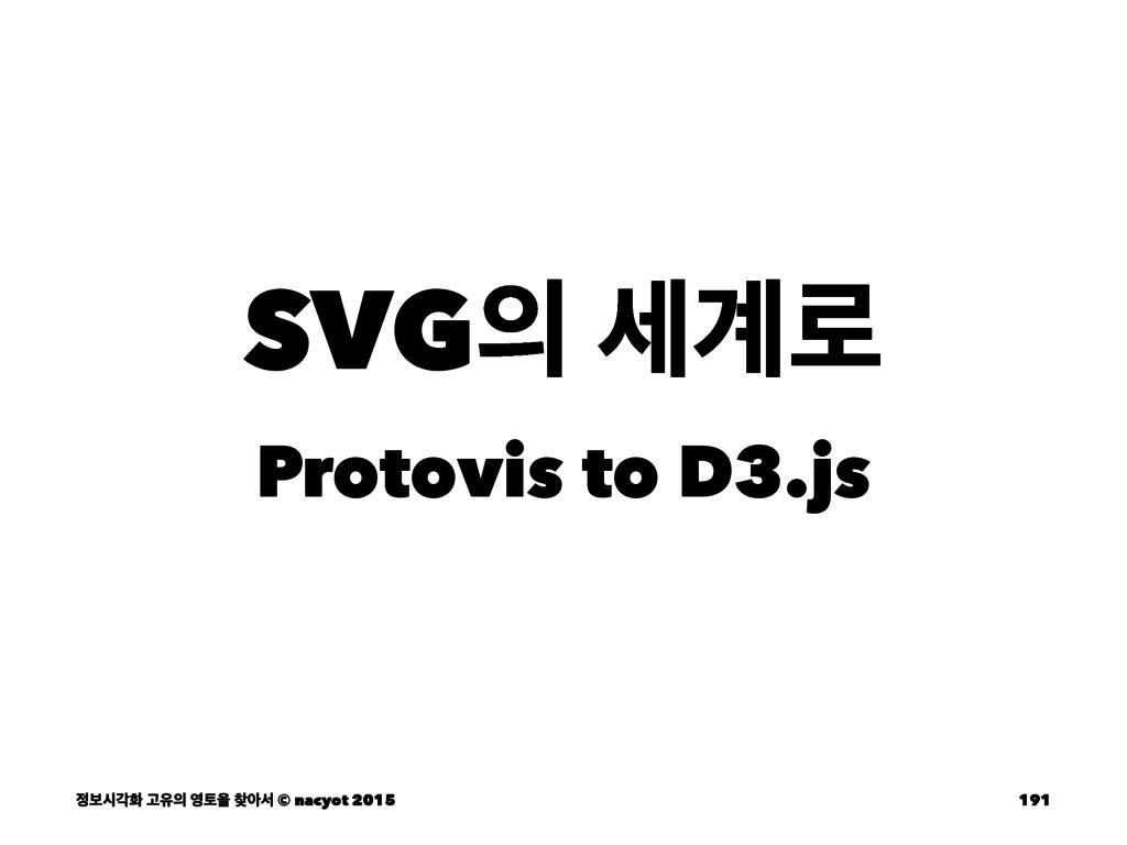 SVG ҅۽ Protovis to D3.js ࠁदпച Ҋਬ షਸ ইࢲ © ...