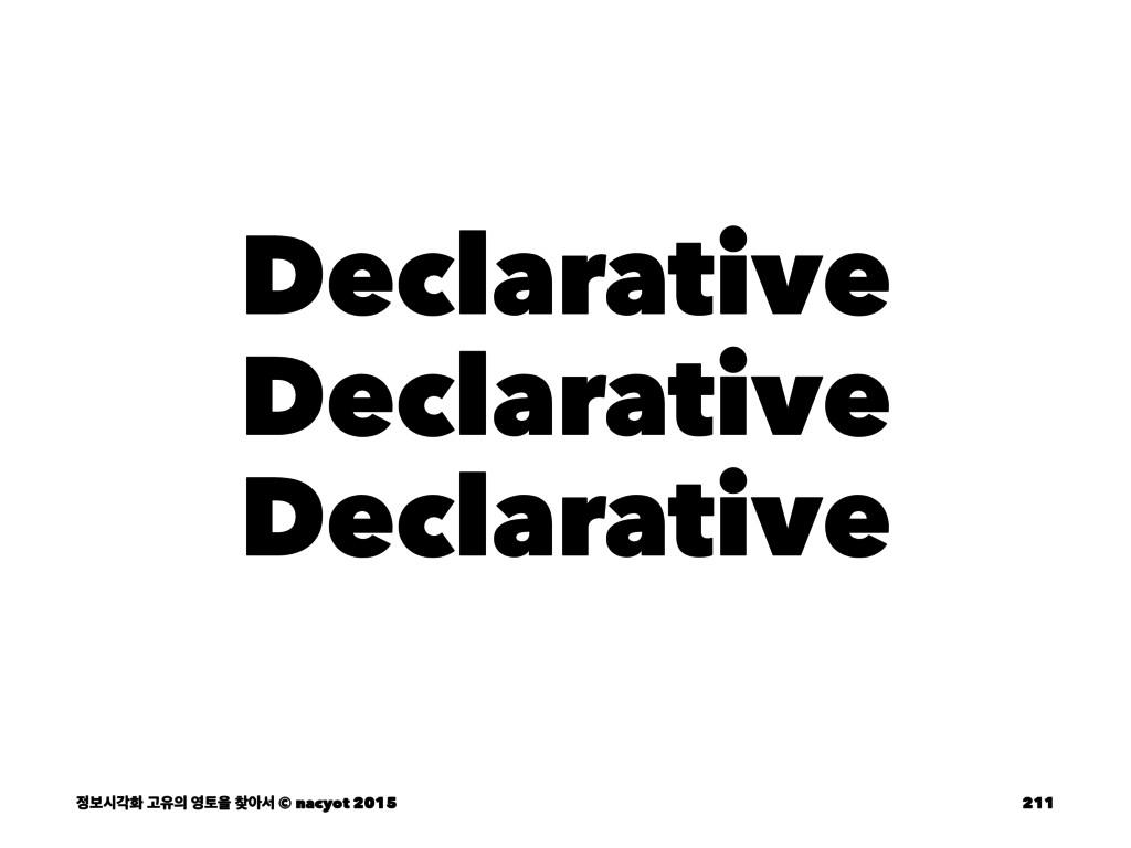Declarative Declarative Declarative ࠁदпച Ҋਬ ...