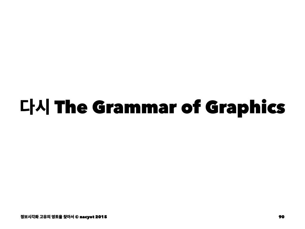 द The Grammar of Graphics ࠁदпച Ҋਬ షਸ ইࢲ © ...