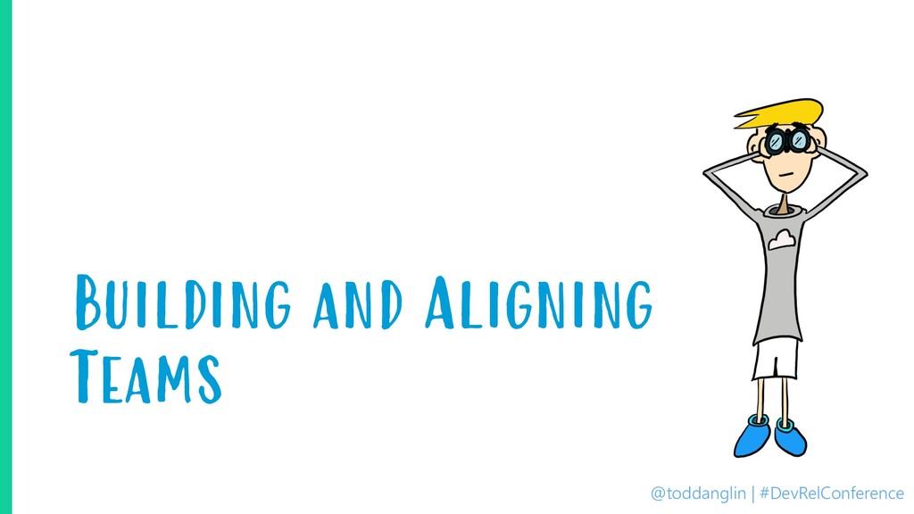 @toddanglin | #DevRelConference Building and Al...