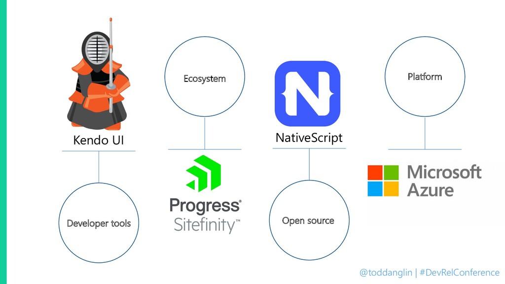 @toddanglin | #DevRelConference Kendo UI Develo...