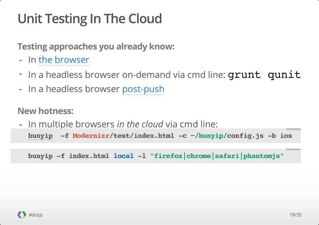 Unit Testing In The Cloud Testing approaches yo...