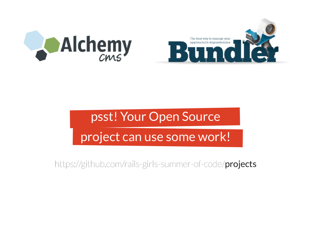 psst! Your Open Source project can use some wor...