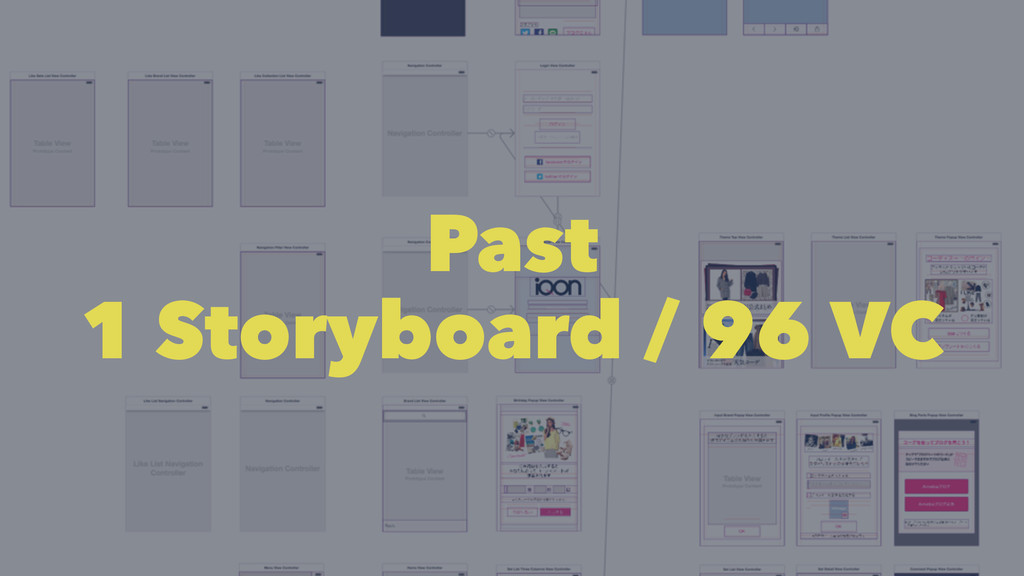 Past 1 Storyboard / 96 VC