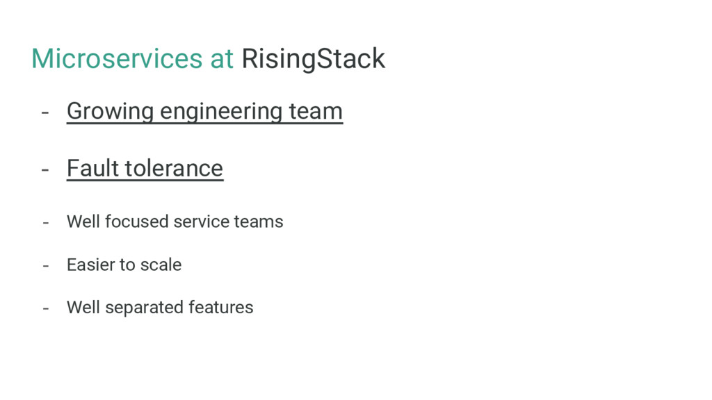 Microservices at RisingStack - Growing engineer...