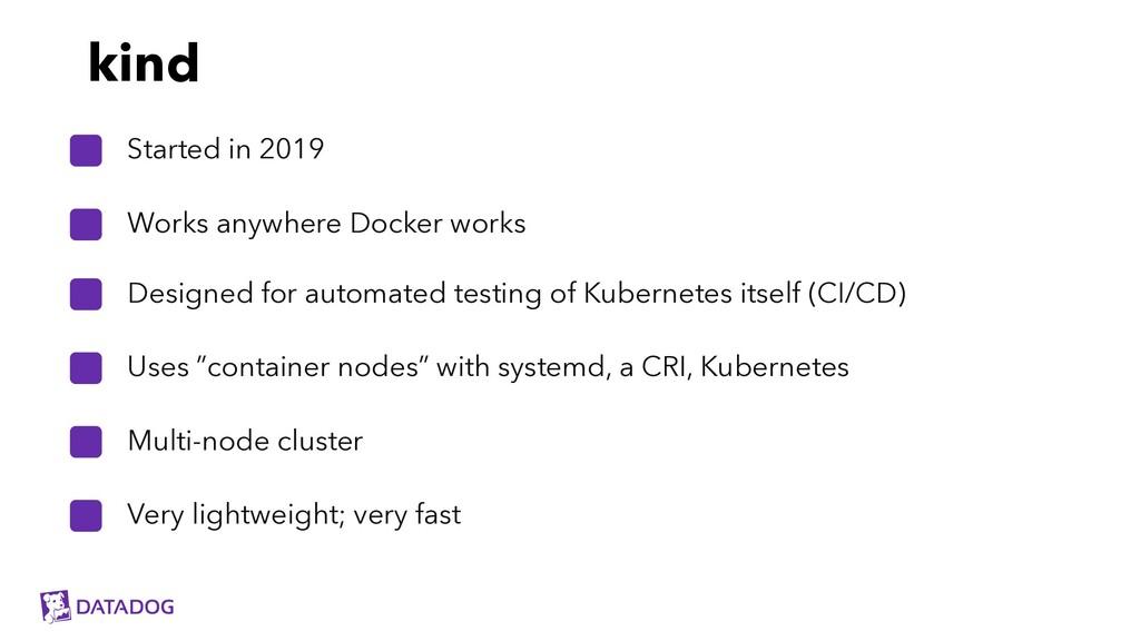 Designed for automated testing of Kubernetes it...