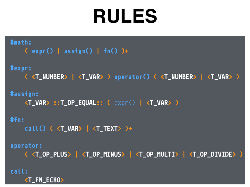 RULES #math: