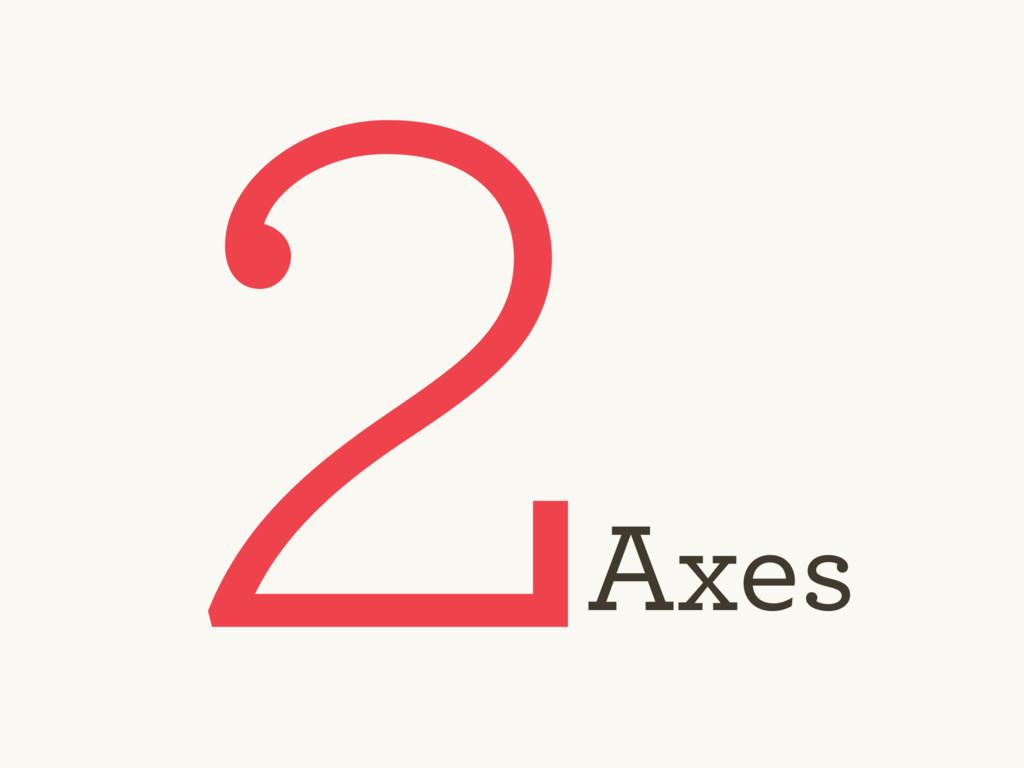 2 Axes
