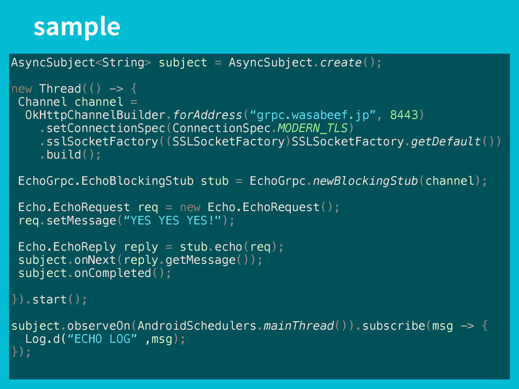 TBNQMF AsyncSubject<String> subject = AsyncSubj...