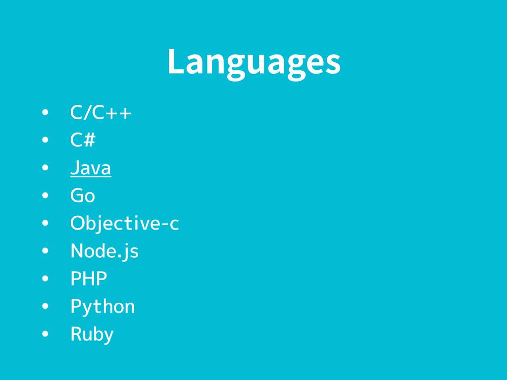 -BOHVBHFT • C/C++ • C# • Java • Go • Objective-...