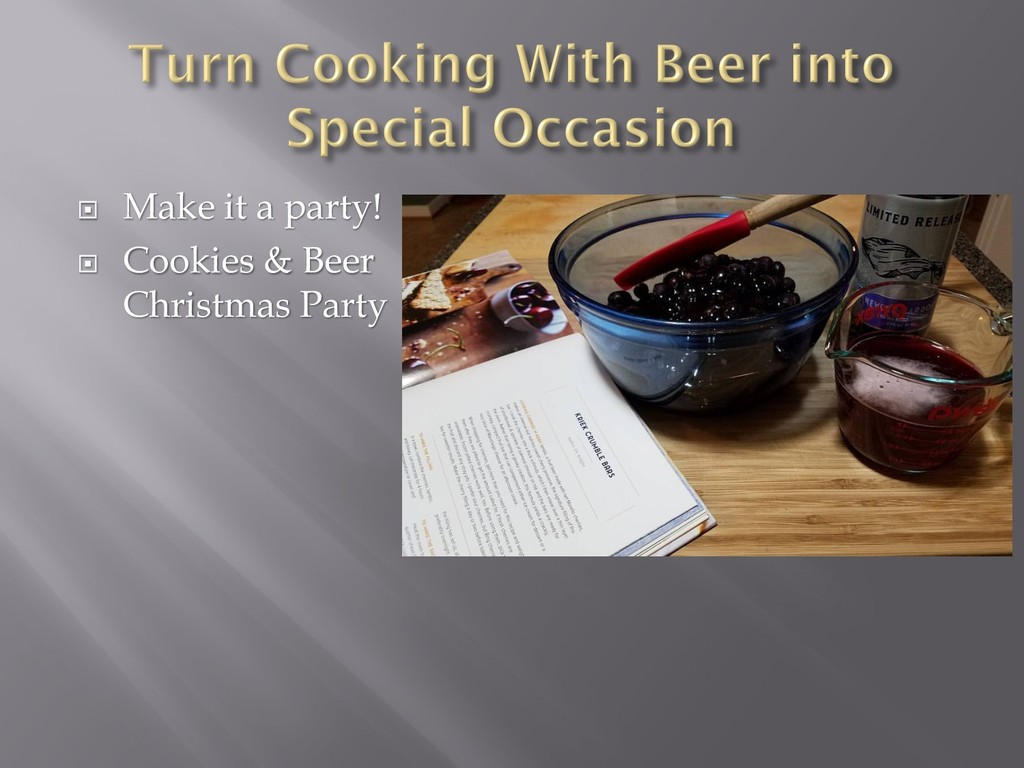 ¨ Make it a party! ¨ Cookies & Beer Christmas P...