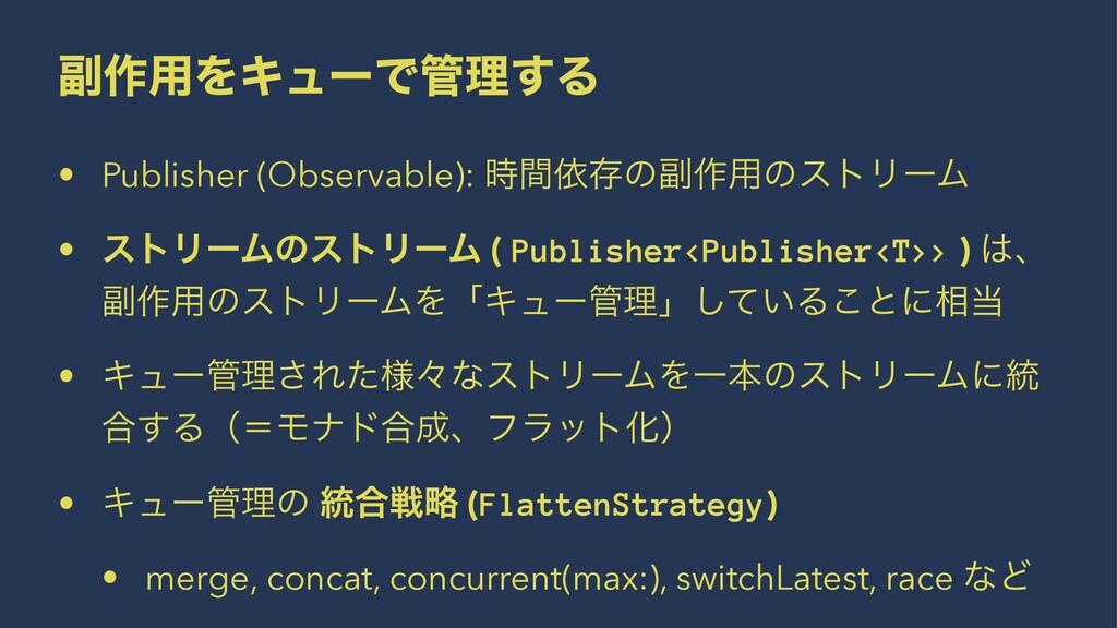 ෭࡞༻ΛΩϡʔͰཧ͢Δ • Publisher (Observable): ؒґଘͷ෭࡞༻...