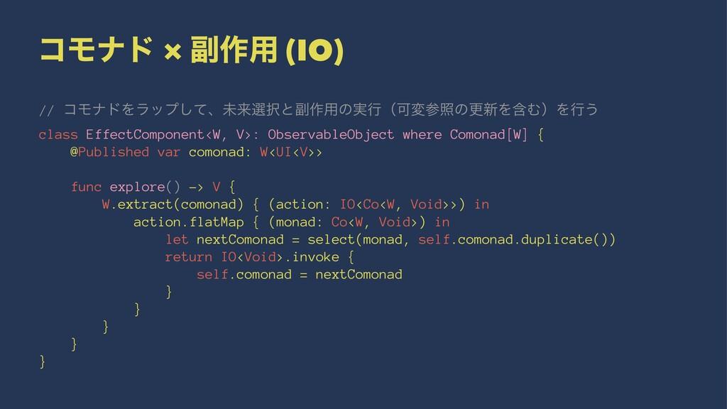 ίϞφυ × ෭࡞༻ (IO) // ίϞφυΛϥοϓͯ͠ɺະདྷબͱ෭࡞༻ͷ࣮ߦʢՄมরͷ...