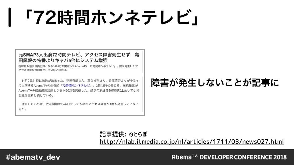 ো͕ൃੜ͠ͳ͍͜ͱ͕هʹ ʮؒϗϯωςϨϏʯ http://nlab.itmedia...