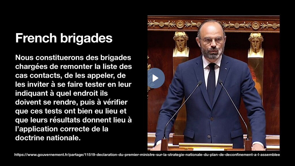 French brigades Nous constituerons des brigades...