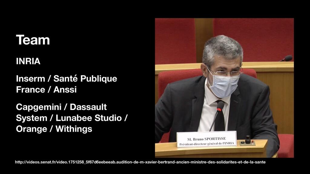 Team INRIA Inserm / Santé Publique France / Ans...