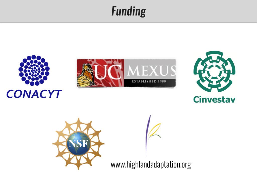 Funding www.highlandadaptation.org